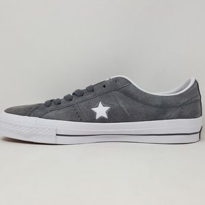 Converse One Star OX Thunder White Men's Size 9 NWT